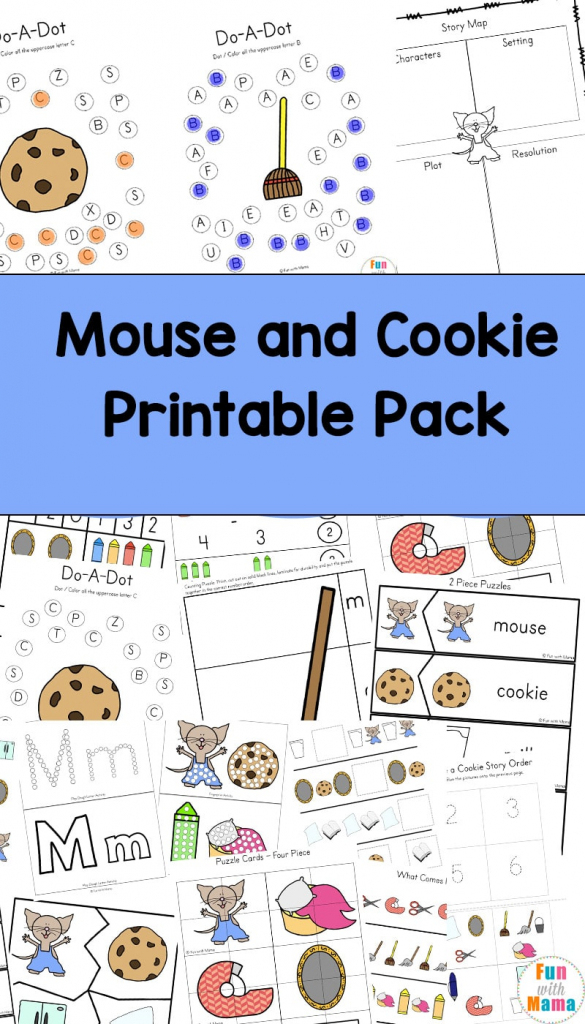 If You Give A Mouse A Cookie Printable Activities - Fun With Mama | If You Give A Mouse A Cookie Sequencing Cards Printable