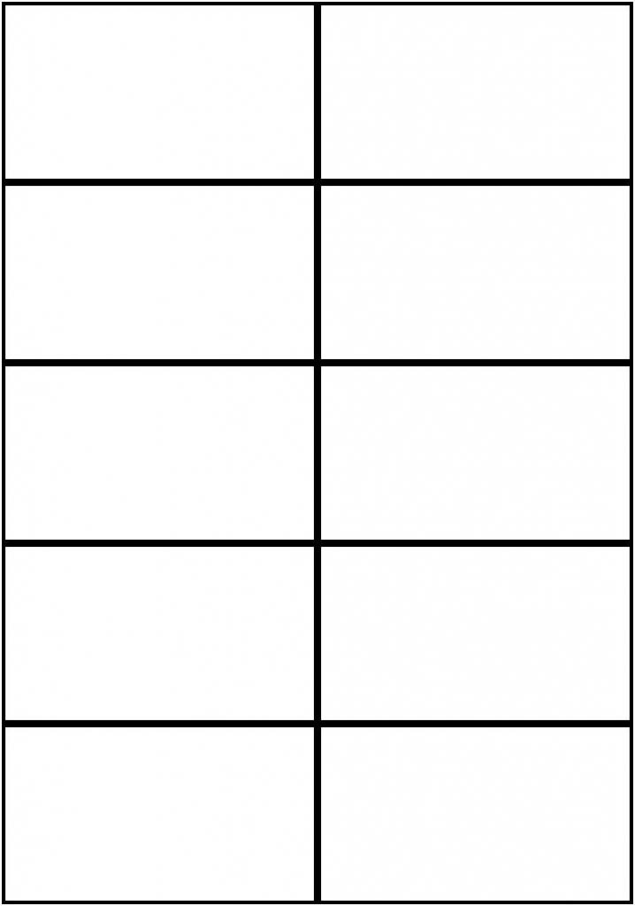 Image Result For Flashcards Template Word | Worksheets | Free | Printable Flash Card Maker
