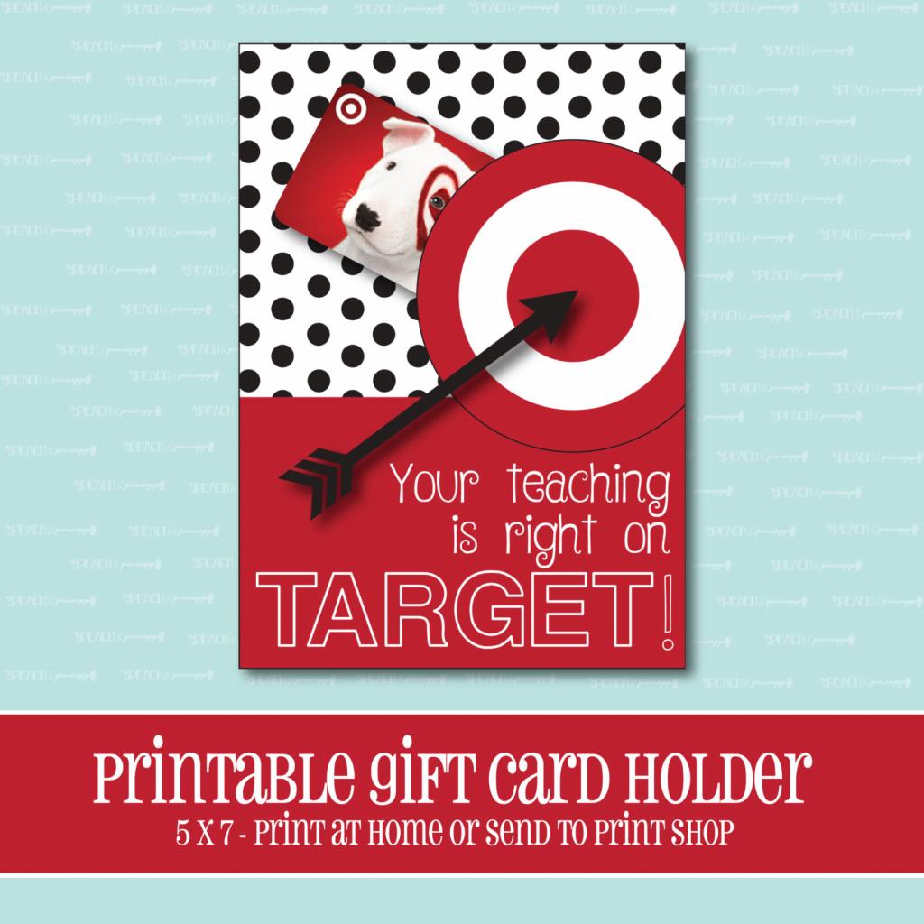 Instant Download Target Gift Card Holder Amazing Teacher | Etsy | Printable Target Gift Card