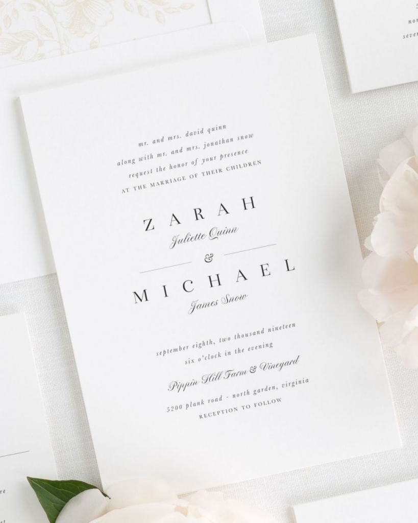 Invitations : Champagne Wedding Invitation Inspirational Classic And | Free Printable Rsvp Cards