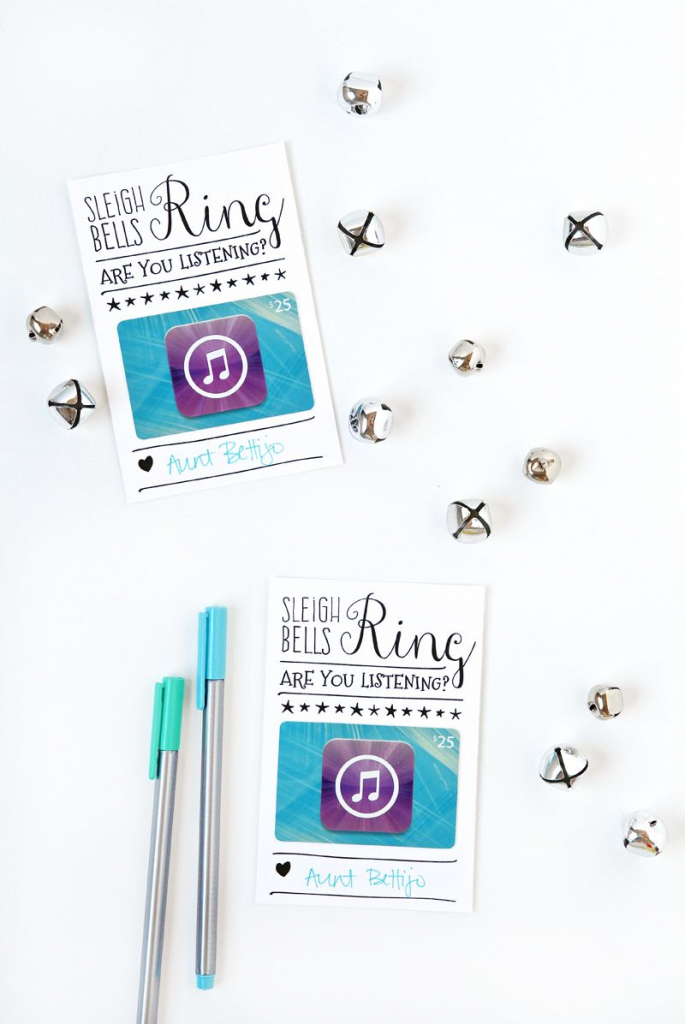 Itunes Gift Card Christmas Packaging | Tauni Everett | Pinterest | Printable Itunes Gift Card