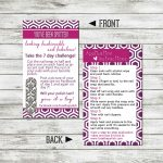 Jamberry 7 Day Challenge Card..let Me Know If You Are Up For The | Jamberry 7 Day Challenge Cards Printable