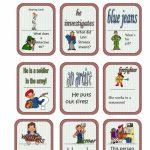 Jobs Card Game Worksheet   Free Esl Printable Worksheets Made | Esl Card Games Printable
