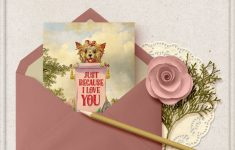 Just Because I Love You Cards Printable