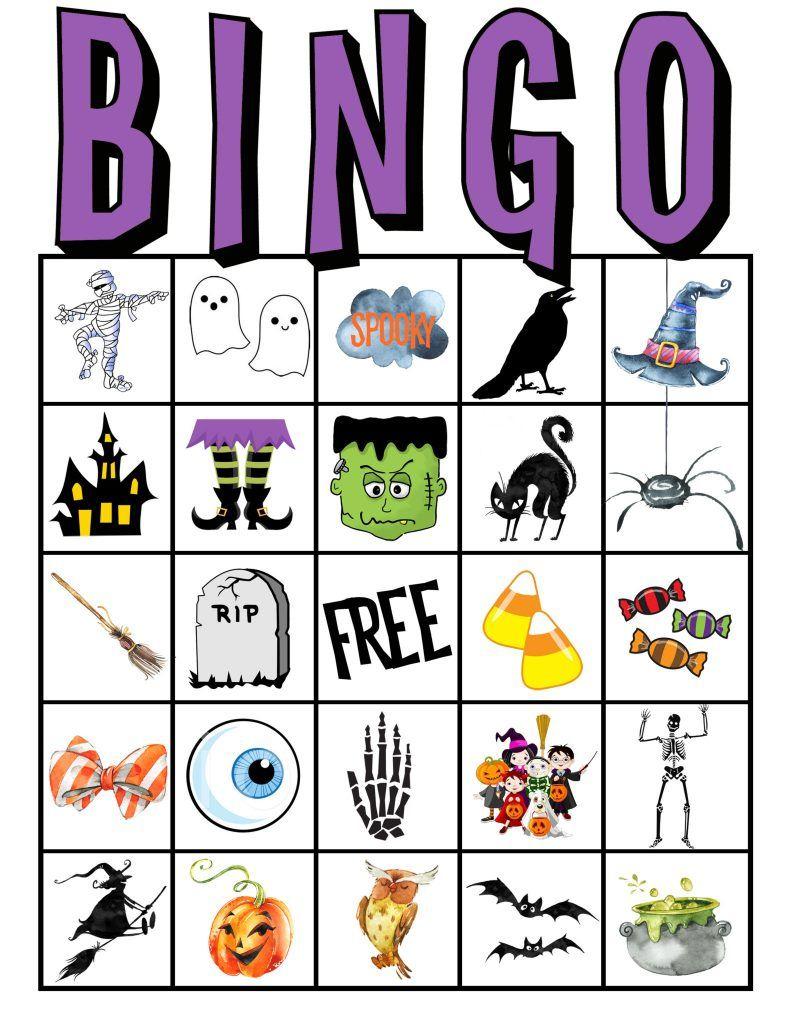 Kids Halloween Party Bingo Cards Free Printable | Classroom Parent | Printable Halloween Bingo Cards For Classroom