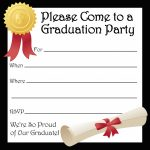 Kindergarten Graduation Invitations Free Printable   Kleo.bergdorfbib.co | Printable Preschool Graduation Card