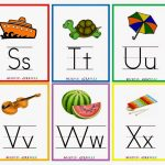 Kindergarten Worksheets: Printable Worksheets   Alphabet Flash Cards 4 | Free Printable Alphabet Flash Cards