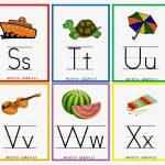 Kindergarten Worksheets: Printable Worksheets   Alphabet Flash Cards 4 | Printable Alphabet Flash Cards