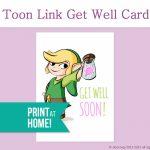 Legend Of Zelda Get Well Card Printable Card Get Well Soon | Etsy | Feel Better Card Printable