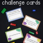 Lego Challenge Cards   The Stem Laboratory | Free Printable Kindergarten Task Cards