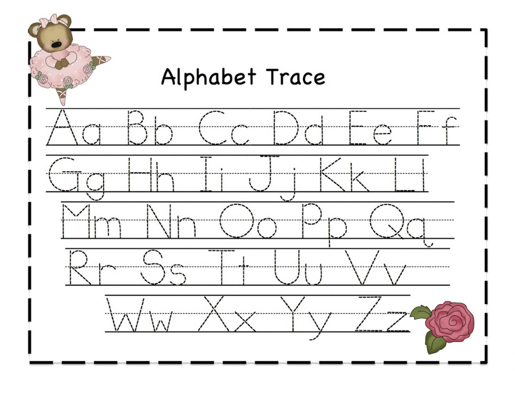 Letter Tracing Templates - Kleo.bergdorfbib.co   Printable Alphabet Tracing Cards