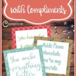 Lighttheworld With Compliments | Paper/printables | Lds Light The | Printable Compliment Cards For Students