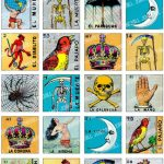 Loteria   Collage Sheet   Vintage Loteria Cards, Mexican Bingo, Day | Loteria Printable Cards Free
