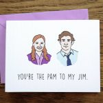 Love Card Instant Download Diy The Office Jim Pam | Etsy | The Office Printable Birthday Card