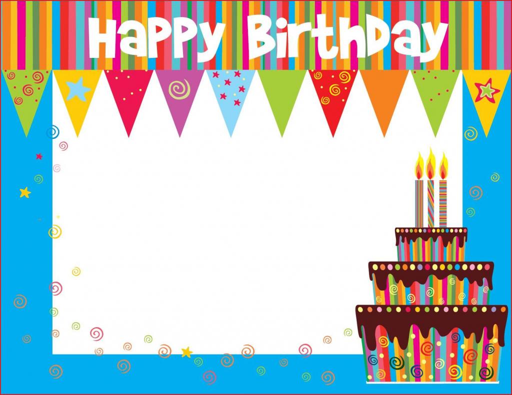 Make A Printable Birthday Card Free Printable Birthday Cards For | Free Printable Birthday Cards For Kids