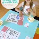 Make Ten {An Easy Card Game For Kids}   Mama.papa.bubba. | Sorry Board Game Cards Printable