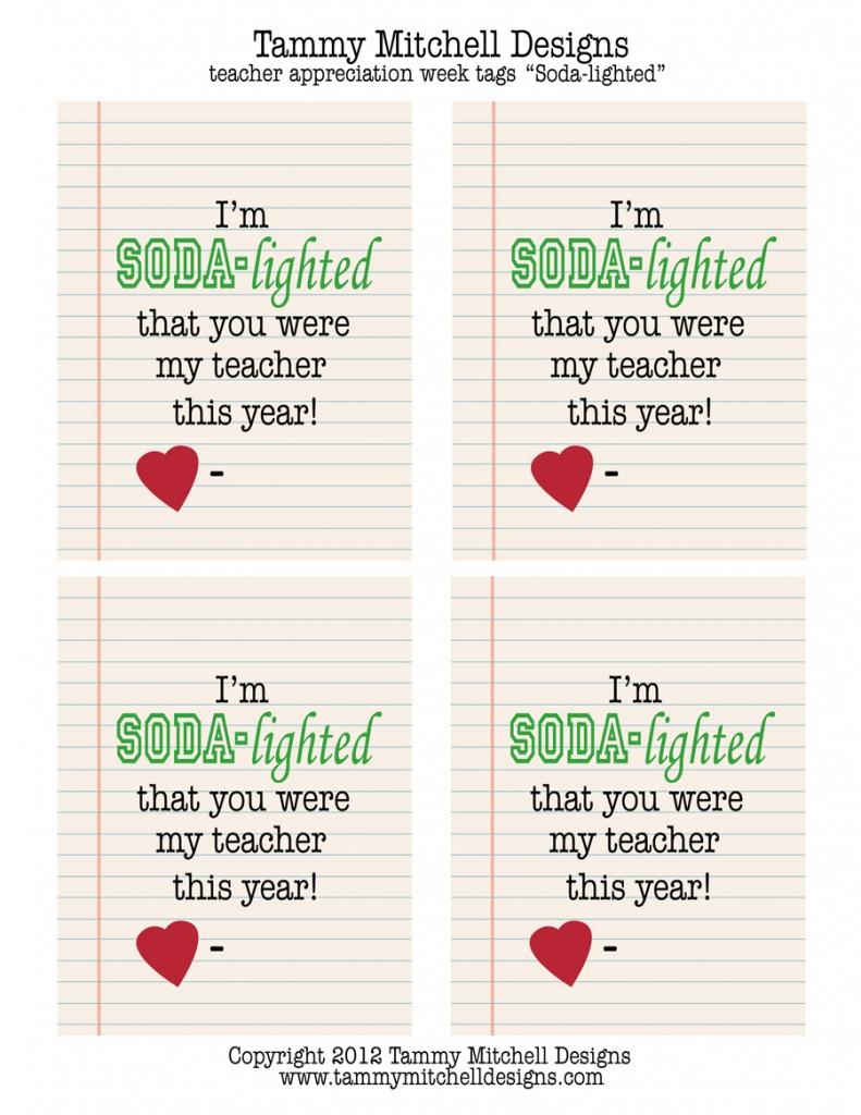 Make This: Free Printable Teacher Appreciation Week Creative Gift | Free Teacher Appreciation Week Printable Cards