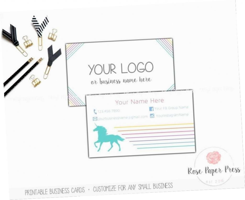 Make Your Own Business Cards Free Printable | Free Printables | Make Your Own Printable Card