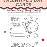 Make Your Own Valentines Cards | Cool Coloring Pages | Valentine's | Free Printable Color Your Own Cards