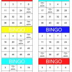Math Bingo | Free Printable Pdf Worksheets | Printable Addition Bingo Cards