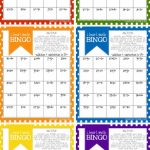 Math Bingo Printable For Kids   Free | Math Activities | Math, Math | Printable Addition Bingo Cards