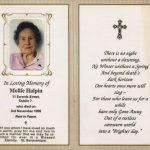 Memorial Card Quotes   Under.bergdorfbib.co | Free Printable Funeral Prayer Card Template