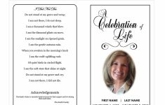 Memorial Templates Microsoft Word – Kleo.bergdorfbib.co | Free Printable Funeral Prayer Card Template