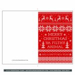 Merry Christmas Cards Printable | Theveliger | Merry Christmas Cards Printable