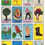 Mexican Loteria Cards The Complete Set Of 10 Tablas | Etsy | Loteria Printable Cards Free