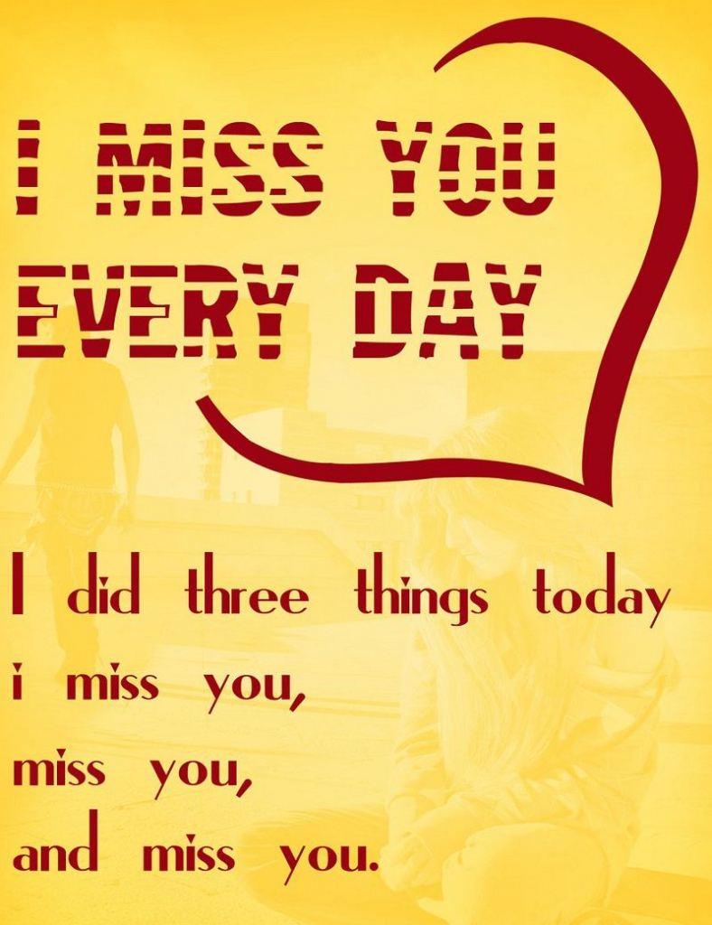 Miss U Card Printable | Miss You Cards | Miss You Cards, Wedding | Printable Miss You Cards