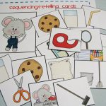 Mommy's Little Helper: If You Give A Mouse A Cookie Preschool Theme | If You Give A Mouse A Cookie Sequencing Cards Printable