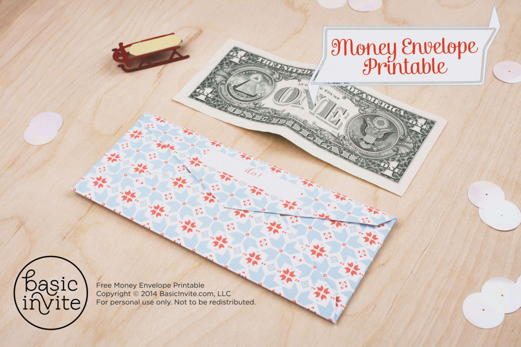 Money Envelope Printable | Free Printable Money Cards For Birthdays