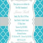 Moroccan First Communion Invitations   First Communion   First   1St Communion Cards Printable