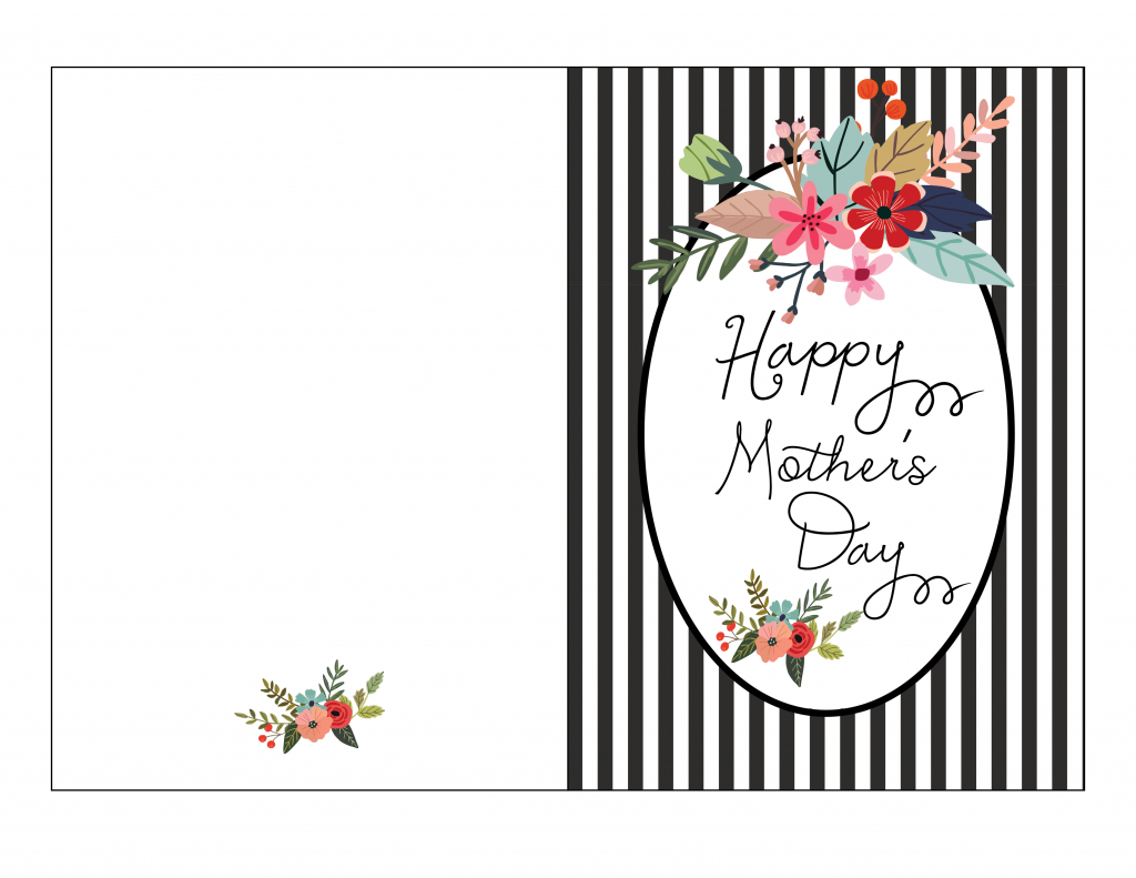 Mother S Day Card Template - Kleo.bergdorfbib.co | Mother's Day Card Maker Printable