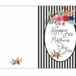 Mother S Day Card Template   Kleo.bergdorfbib.co | Printable Mom's Day Cards