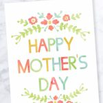 Mother's Day Card   Free Printable | Free Printable Mothers Day Card From Dog