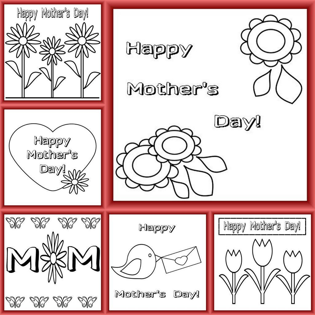 Mother's Day Is Coming Up In The Uk - Have A Look At Our Free | Printable Mothers Day Cards For Preschoolers