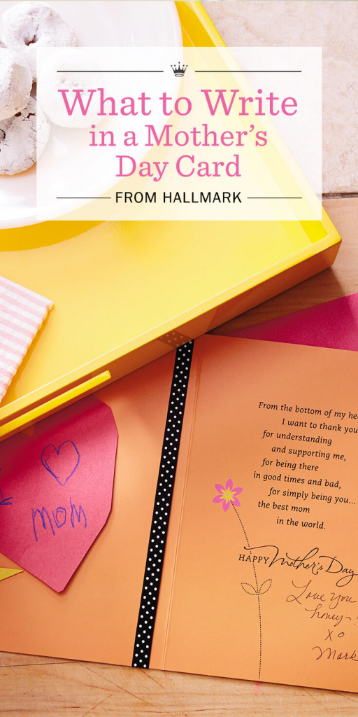 Mother's Day Messages: What To Write In A Mother's Day Card | Hallmark Printable Mothers Day Cards