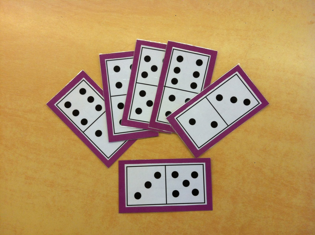 Mrs. Byrd's Learning Tree: Domino Math Games   Printable Domino Cards For Math