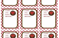 Printable I Love You Cards