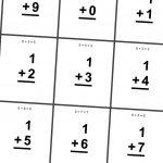 Multiplication Flash Cards Printable 0 12   Printable Cards | Subtraction Flash Cards Printable