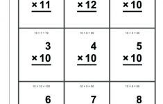 Printable Math Flash Cards