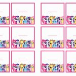 My Little Pony Name Tags | Birthday Printable | Free Printable My Little Pony Thank You Cards