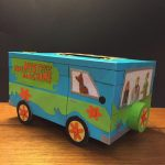Mystery Machine Valentine's Box. | Valentine's Party | Valentine Box | Printable Scooby Doo Valentine Cards