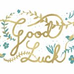 Natural Luck   Good Luck Card (Free) | Greetings Island | Printable Good Luck Cards