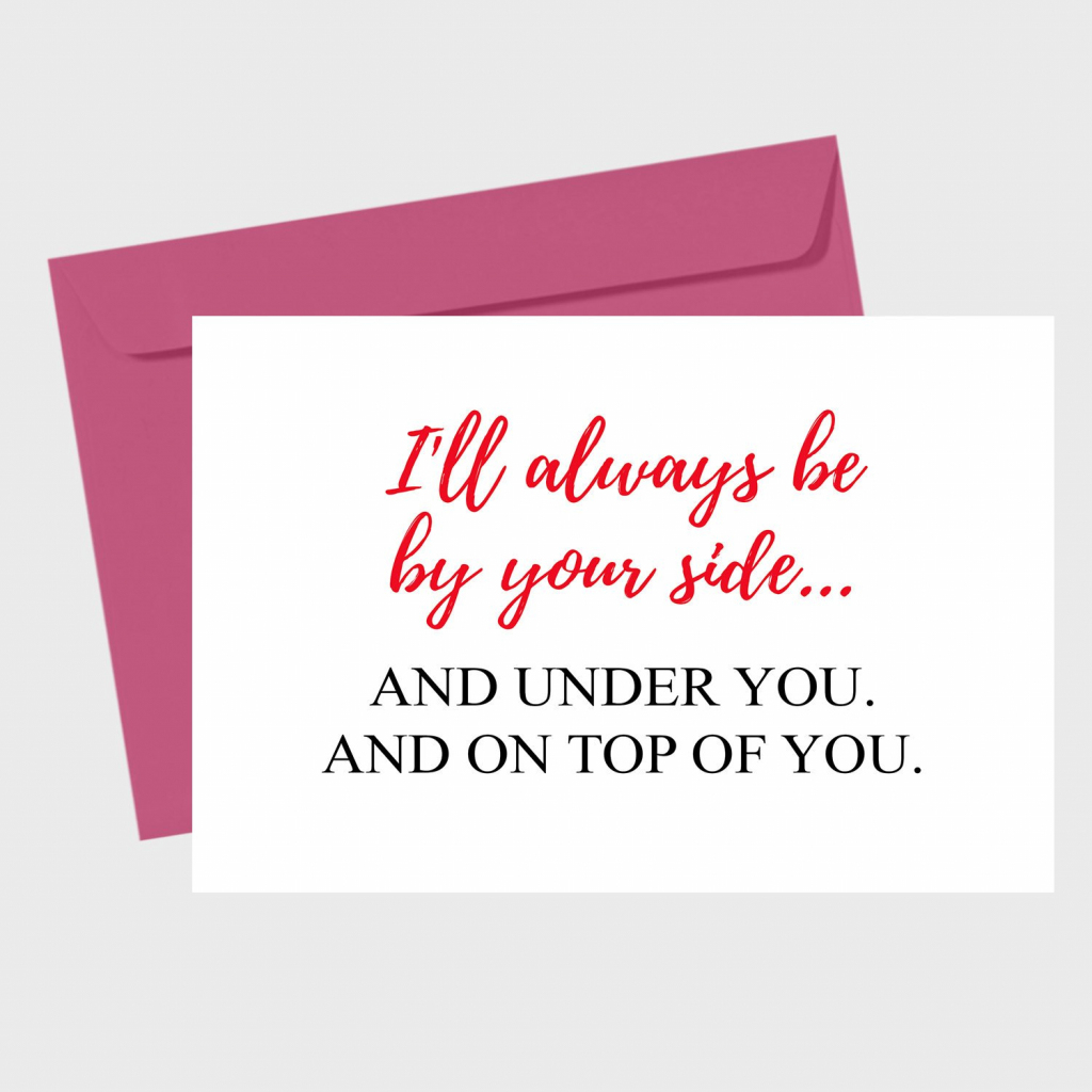 Naughty Valentines Day Card For Him Printable Valentines Day | Etsy | Printable Valentines Day Cards For Husband