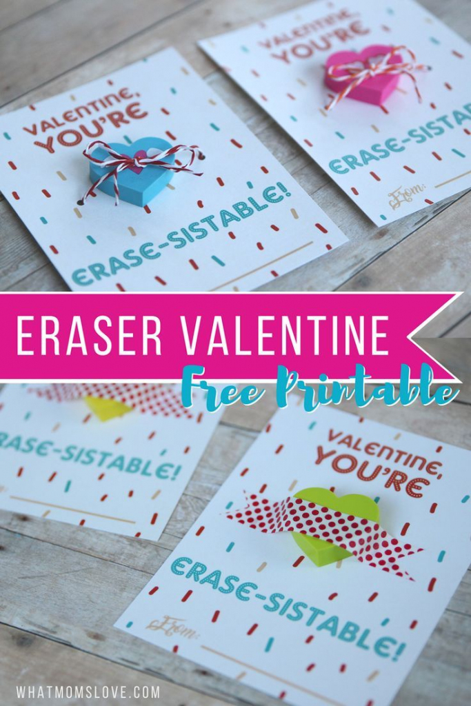 "Non-Candy Printable Valentine Perfect For The Classroom: ""You're 