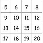 Number Card Templates   Kleo.bergdorfbib.co   Free Printable Number Cards