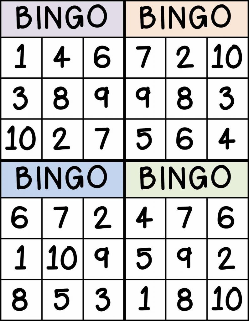 Numbers | Sarah | Numbers Preschool, Preschool Math, Math Classroom | Free Printable Number Bingo Cards 1 20