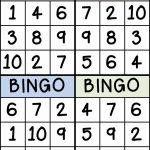 Numbers | Sarah | Numbers Preschool, Preschool Math, Math Classroom | Printable Number Bingo Cards